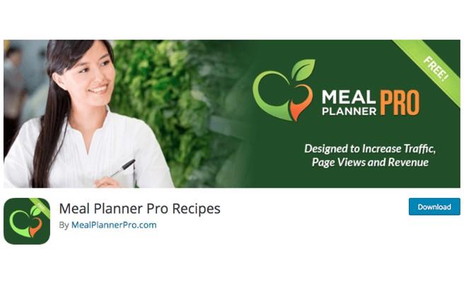 Meal Planner Plugin
