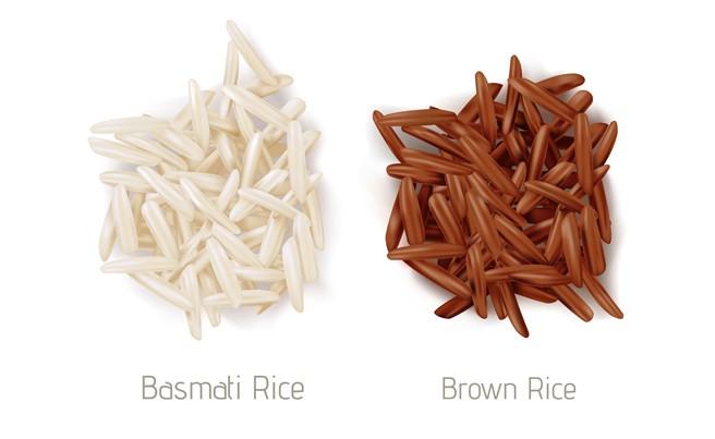 Basmati vs Brown Rice