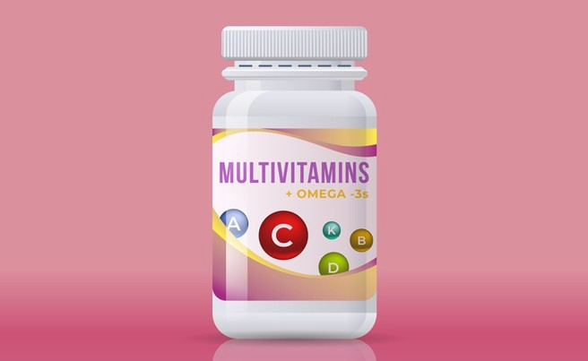 Multivitamins Illustration
