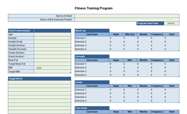 Office Training Template