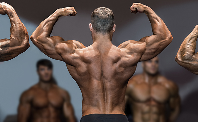 Bodybuilding Competition Poses