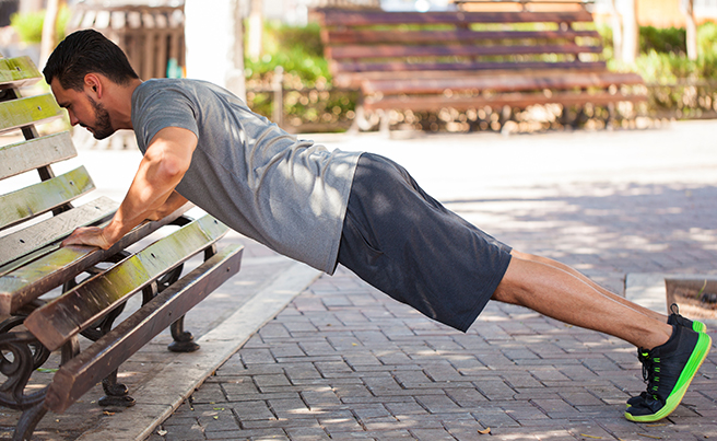 Incline Pushup Bench
