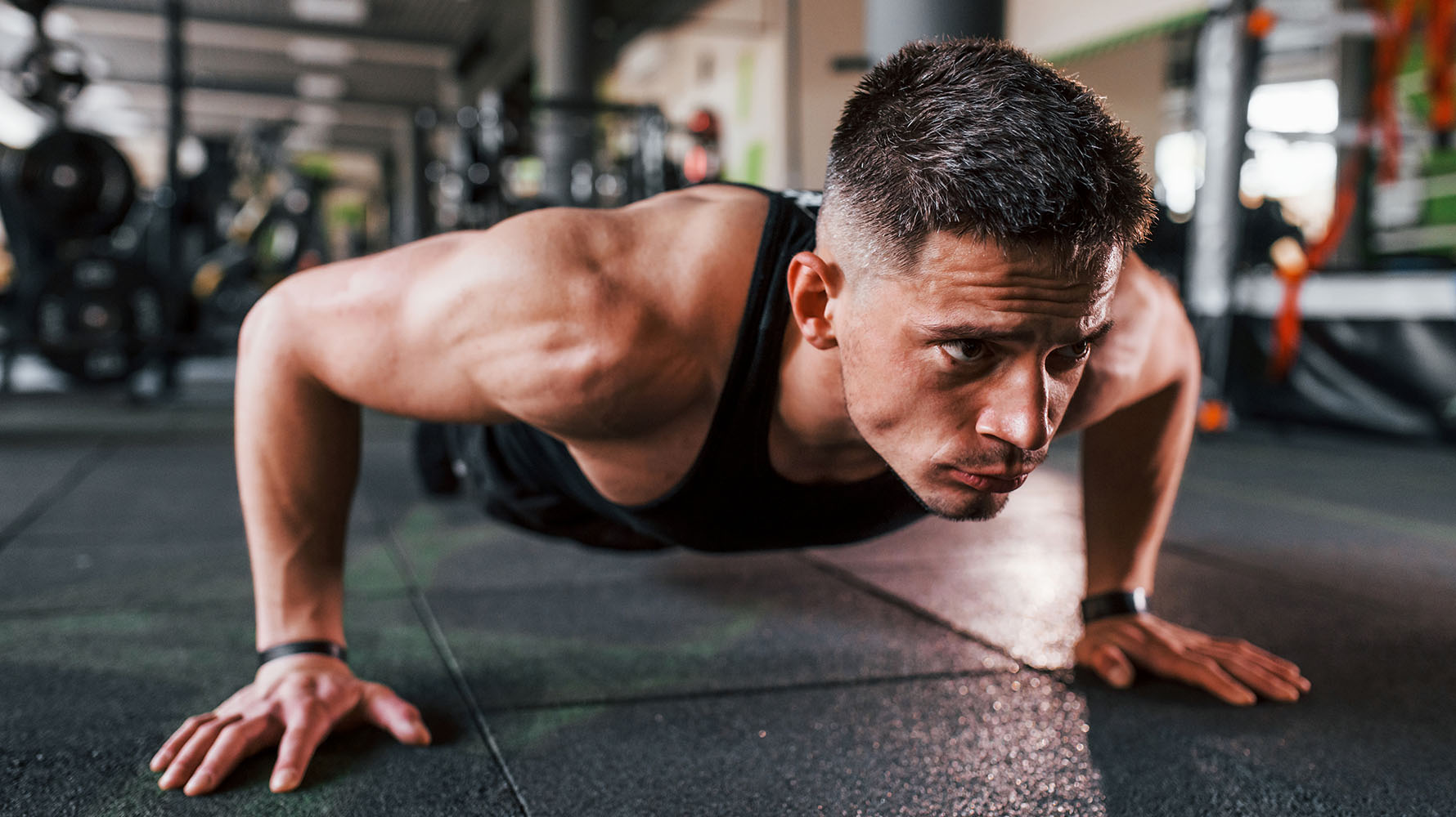 how to adjust the push-up