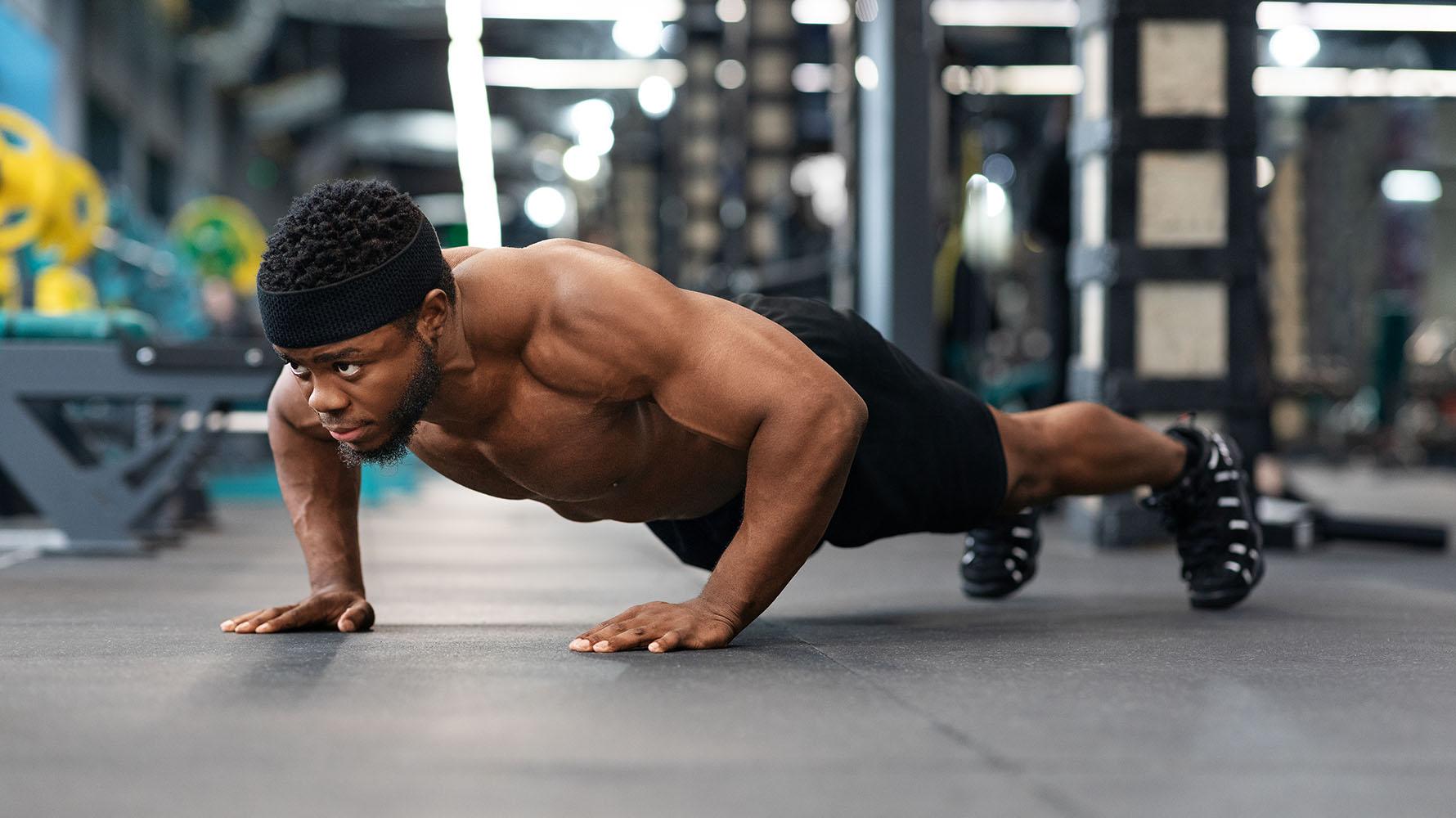 standard push-ups