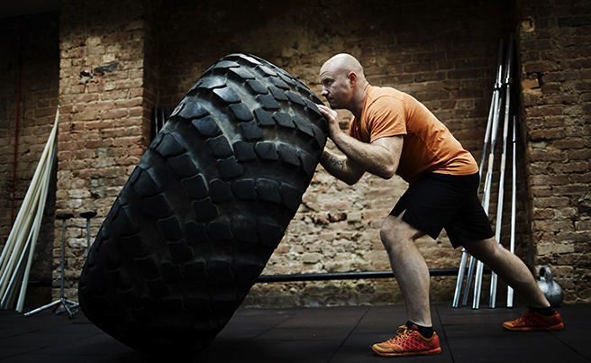 Power Lifting Tire