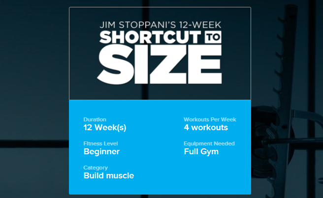 Shortcut to Size Info
