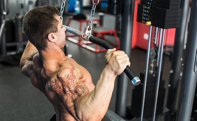 Working Out Pulldown